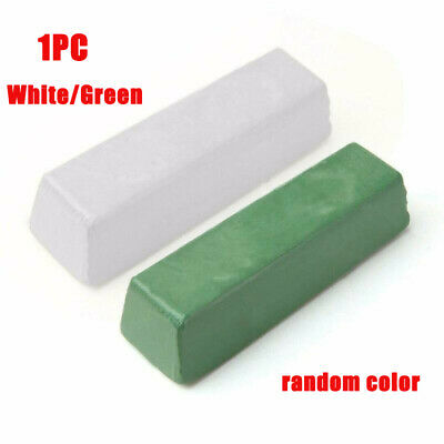 White/Green Abrasive Polishing Wax Paste Compounds Fit For Metal Brass Buffing