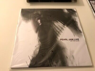 Pearl Jam Live on Ten Legs Vinyl Factory Sealed Rare Ten Club Original Pressing