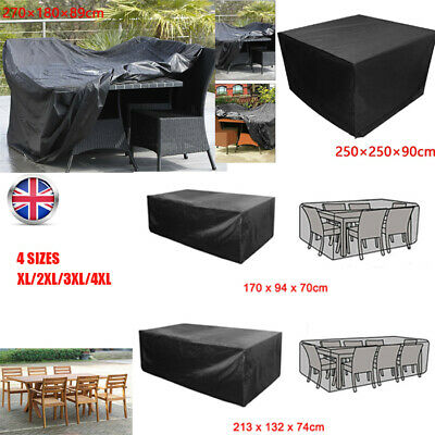 Furniture Cover Outdoor Extra Large Rattan Patio Table Protect Waterproof Garden