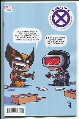 Powers Of X #6 Skottie Young Baby Variant Cover - Marvel Comics/2019