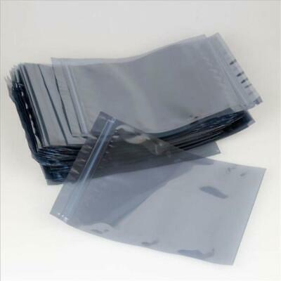 ESD Anti-Static Shielding Storage Bag Translucent Zip Lock Resealable Bags Pouch