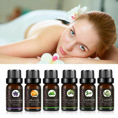 Aromatherapy Essential Oils 100% Natural Pure 10ml Essential Oil Fragrances FR