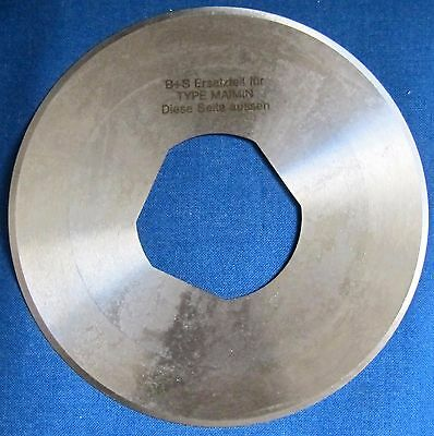 """Maimin-86  -  6"""" Round Cloth Cutter Blade For Model 86"""