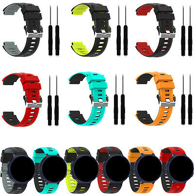 Replacement Two-color Wristband Straps For Garmin Forerunner 235 220 620 735xt