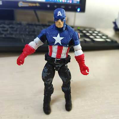 "3.75"" Marvel Universe Night Mission Captain America Action Figure Boy Toy Gift"