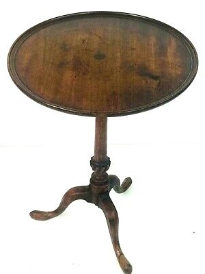 Antique Georgian Mahogany Tilt Top Table - FREE Shipping [5560]
