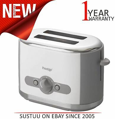 Prestige 2-Slice Oyster Toaster│Brushed Stainless Steel│Variable Browning Option