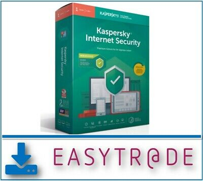 Kaspersky Internet Security 2020 - 1 Gerät / 1Jahr - Multidevice ESD Produkt