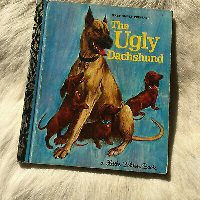 Little Golden Book - The Ugly Dachshund 1973