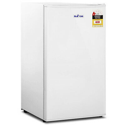 Portable Mini Bar Fridge Cold Beer Cooler Home Office Parties Compact 95L White