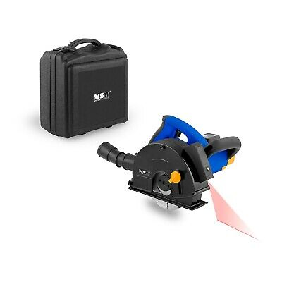 Electric Wall Chaser 1800W Saw Slotter Wall grinder connectable vacuum cleaner