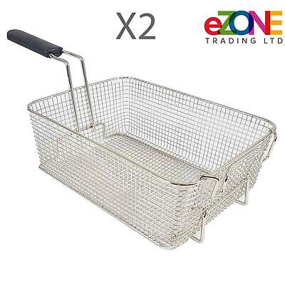 2x PARRY BASKETPRO Commercial Deep Fat Fryer Basket for Paragon