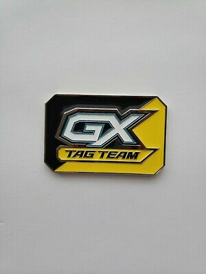 2x Pokemon 2019 Spring Tag Team Collector/'/'s Tins Metal GX Marker Near Mint