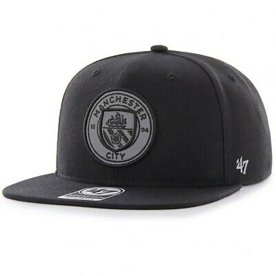 Manchester City F.C - 47 Brand Adult Baseball Cap (REFLECTIVE)