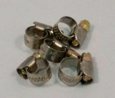 PRIMA Stainless Steel/ JUBILEE Mild Steel Hose Clamps Clips Worm Drive