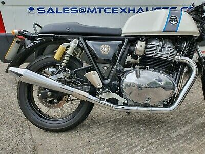 Royal Enfield GT650 Continental Reverse Cone Road Legal/Race Motorbike Exhausts
