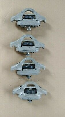 Nissan Navara D40 Load Tie Down Cleats, 4x Load Clamps for Load Liner Rails