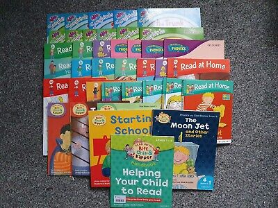 Oxford Reading Tree Read With Biff Chip and Kipper.and read at home ( 49 books )