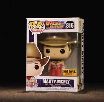 Back To The Future - Cowboy Marty McFly Funko Pop! Vinyl Figure ***PRE-ORDER**
