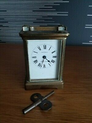 Huxtable 8 Day Time Piece Corniche Carriage Clock Duberdry And Bloquel