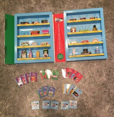 Ms M&S Little Shop Collectables My Collection Full Set & Cards & Display Box 99p