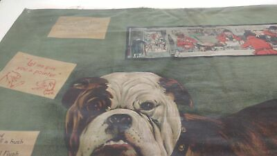 campbell metzger jacobson 1907 lithograph dog/red coats/cigar cards