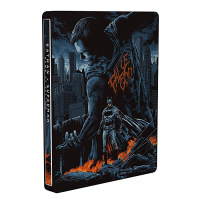 Batman V Superman (Steelbook Mondo) (2 Blu-Ray)  [Blu-Ray Nuovo]