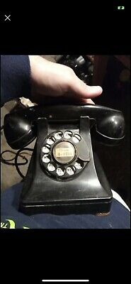 Vintage 1937 Western Electric Model 302 Rotary Telephone