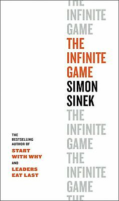 The Infinite Game Business Decision by Simon Sinek Hardcover