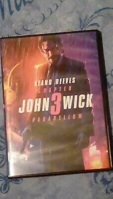 John Wick:Chapter 3 - Parabellum (2019,DVD) Keanu Reeves, Halle Berry REGION 2