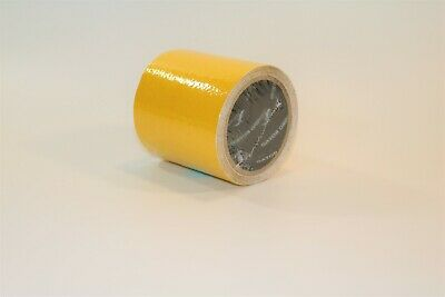 "Anti- Skid Outdoor Pavement Marking Tape - 1 Yellow 4"" Roll -LOT 10"