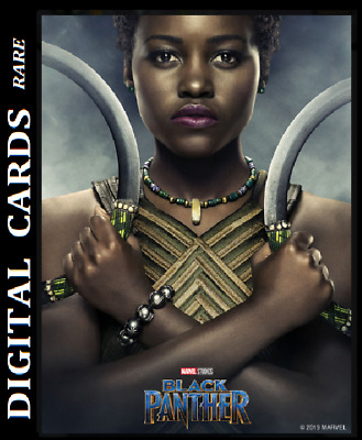 Topps Marvel Collect Card Trader Black Panther Poster Series Nakia