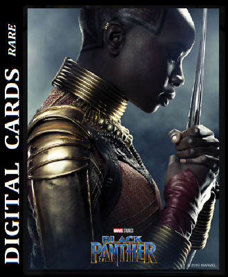 Topps Marvel Collect Card Trader Black Panther Poster Series Okoye