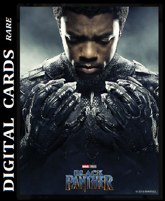 Topps Marvel Collect Card Trader Black Panther Poster Series T'challa