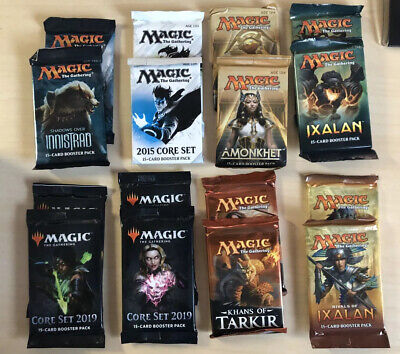Magic: the Gathering MTG Lot - Booster Packs (16) Factory Sealed IXALAN M15 M19