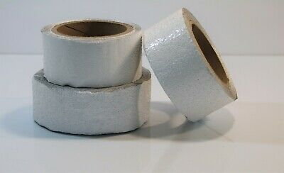 "Bulk Outdoor Pavement Marking Tape - Lot of 3 White 2""  Rolls- LOT 13"
