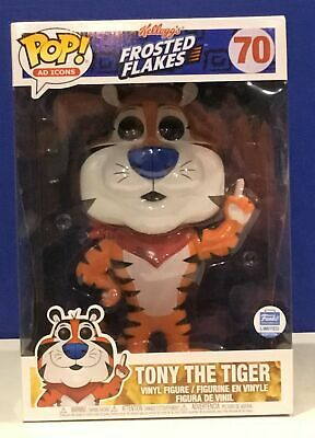 """Funko POP! Ad Icons: Frosted Flakes Funko Shop Exclusive 10"""" Tony The Tiger #70"""