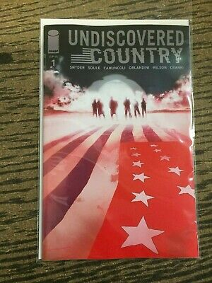 Undiscovered country 1 NM First 1st Print Jock Variant Snyder NM PreSale 11/6