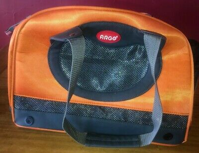 Airline Approved Small/Medium Dog Cat Pet Carrier Car Seat Argo Teafco