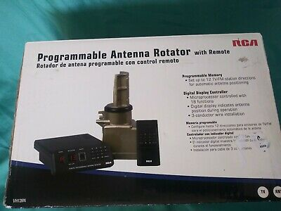 NEW programmable antenna rotator RCA