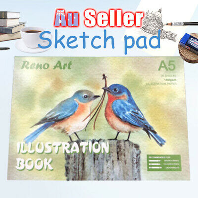 Pad Art Craft Paper Drawing illustration Atrist A5 100gsm Book Painting Sketch
