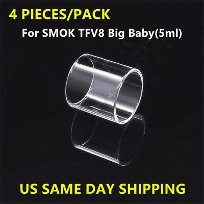 4 Pack of Big Baby Beast Transparent Glass - Same Day USA Shipping!