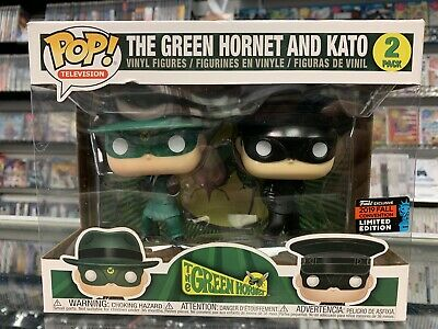 Funko Pop Green Hornet and Kato 2 Pack 2019 NYCC New York Comic Con Exclusive!