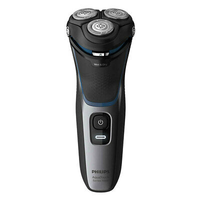 Philips Wet/Dry Aqua Touch Electric Shaver Cordless Mens Facial Hair Removal