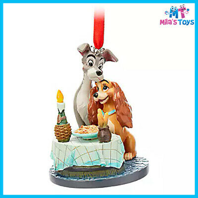 Disney Lady and the Tramp 2019 Sketchbook Ornament brand new