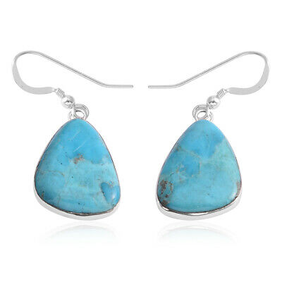 925 Sterling Silver Turquoise Earrings Gift Southwest Jewelry for Women Ct 30