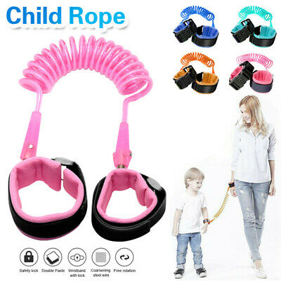 Kids Safety Harness Anti Lost Wrist Strap Leash Baby Walk Child Toddler
