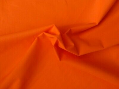 Outerwear Waterproof PUL Fluorescent Safety Hivis Orange Woven Polyester Fabric