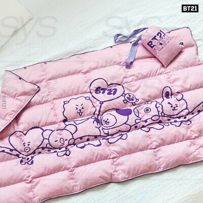 BTS BT21 Official Authentic Goods Padded blanket 160x240mm + Tracking Number