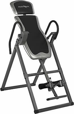 Inversion Table Adjustable Headrest Fitness Chiropractic Exercise Back Pain New